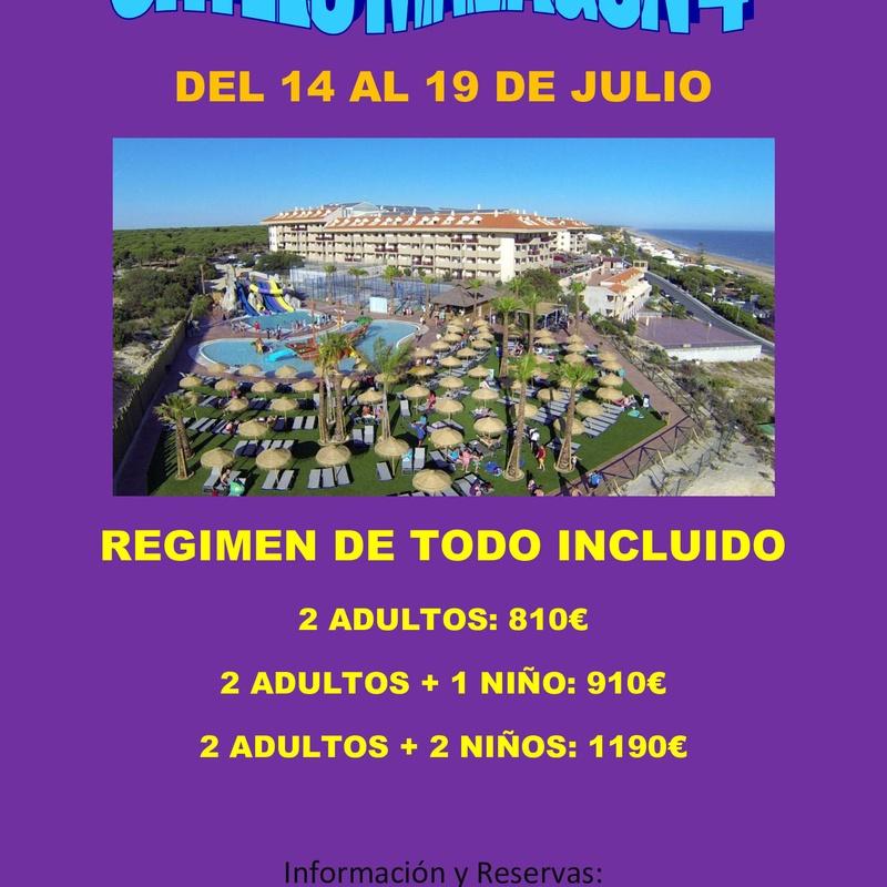 Ohtels Mazagon 4* Julio: Ofertas de Viajes Global Sur