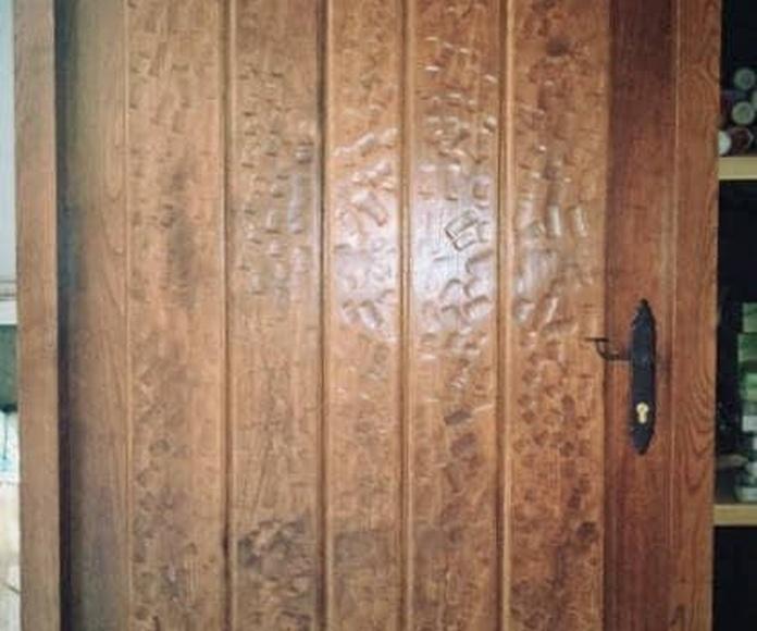 Puertas exteriores: Catalogo de productos de Carpintería B.P. Cuétara Ibáñez