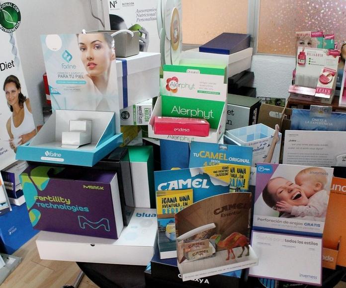 Fabricación de displays: Catálogo de Merchandising de Polaris Pack