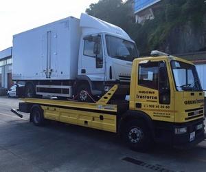 Grúas para furgones