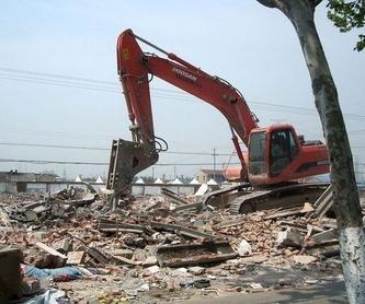 Excavaciones y transportes: Servicios de Excavaciones Brazomar