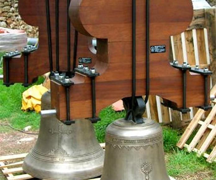 Yugos: Servicios de Pallás Campanas y Relojes
