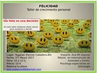 Taller de crecimiento personal en el Centro Yogarati - Madrid