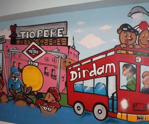 Parque de bolas, centro infantil
