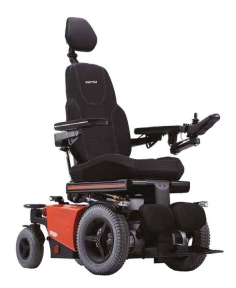 Sillas de ruedas - eléctricas - karma - evo lectus: Productos de Ortopedia Ca N'Oriac