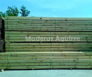 Tablones de madera en Vizcaya