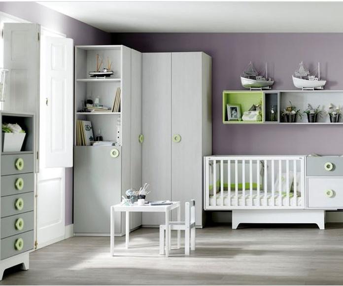 Dormitorios infantiles - Ros - colección Ros Mini