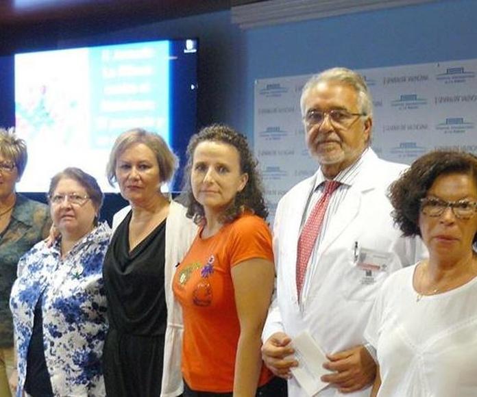 II Jornadas La Ribera contra el Alzheimer (foto del blog del Hospital de la Ribera)