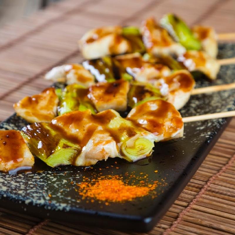 73.Pincho variado: Carta y menús de Yoshino