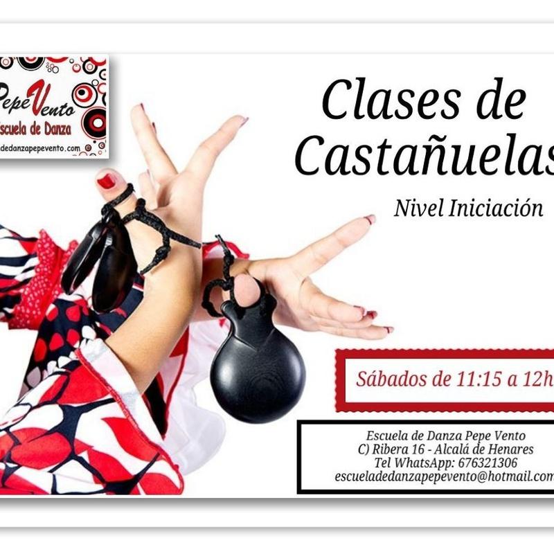Castañuelas: Clases de Escuela de Danza Pepe Vento