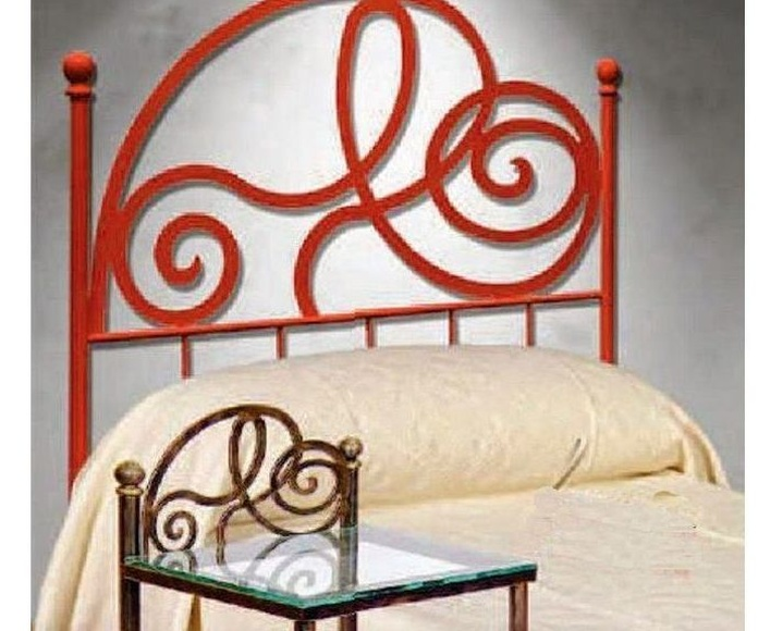 Cabecero Merida: Catálogo de muebles de forja de Forja Manuel Jiménez