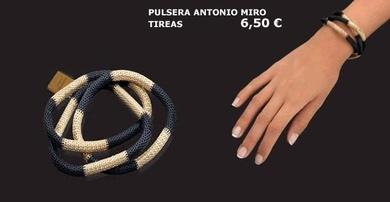Pulseras Antonio Miró
