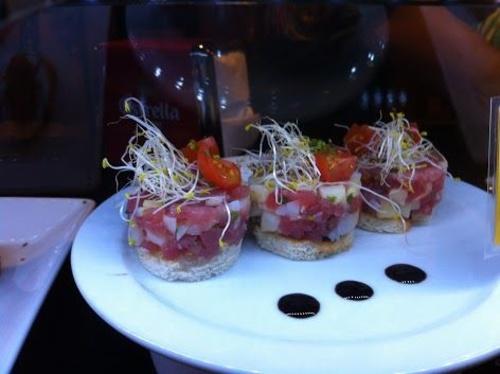 Tapas de bar en el Gótico de Barcelona