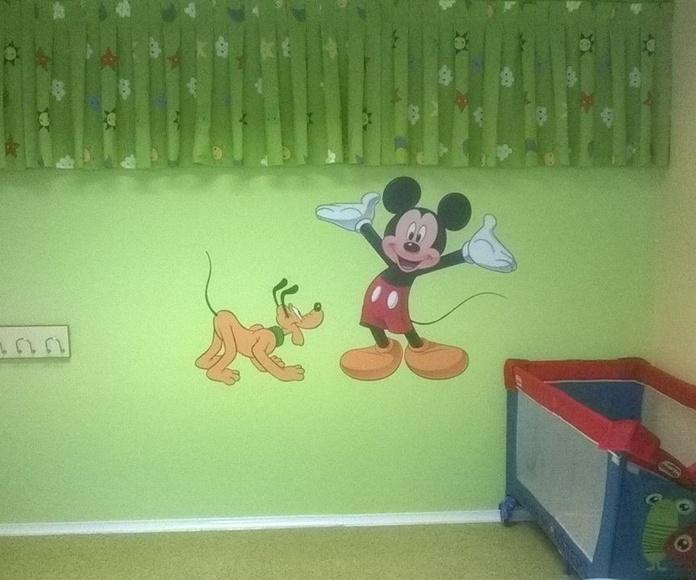 Pintura decorativa: Servicios de Gregorio Carcas Aznar