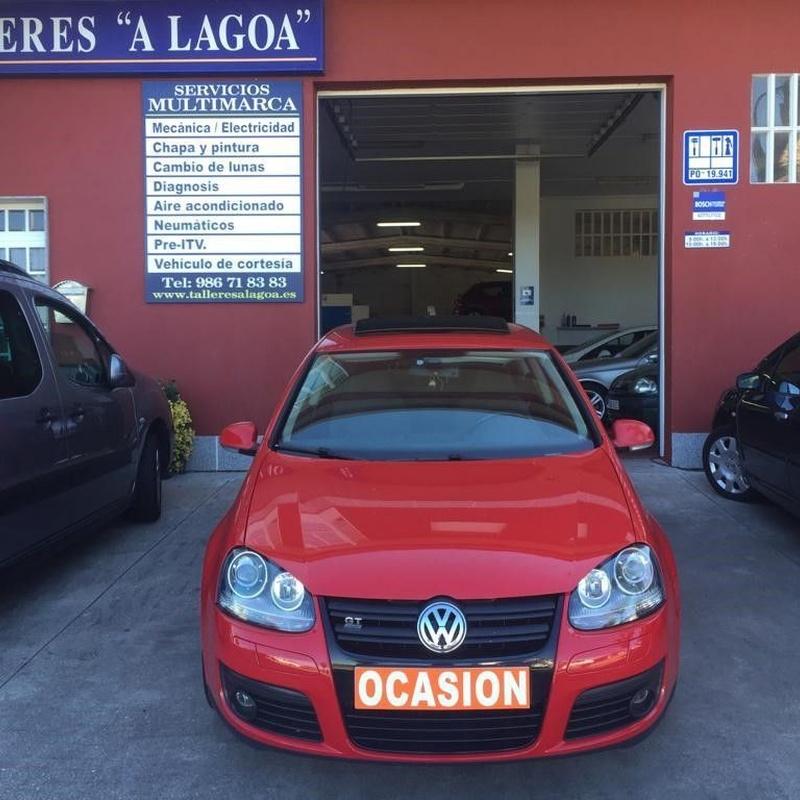 Volkswagen Golf V 1.9TDI 105CV:  de Ocasión A Lagoa