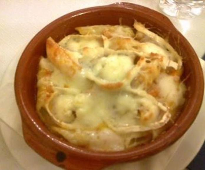 Macarrones con queso: Platos de Pizzeria Crêperie La Boloñesa