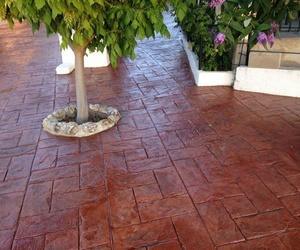 Suelos de hormigón impreso pulido en Montroy, Valencia