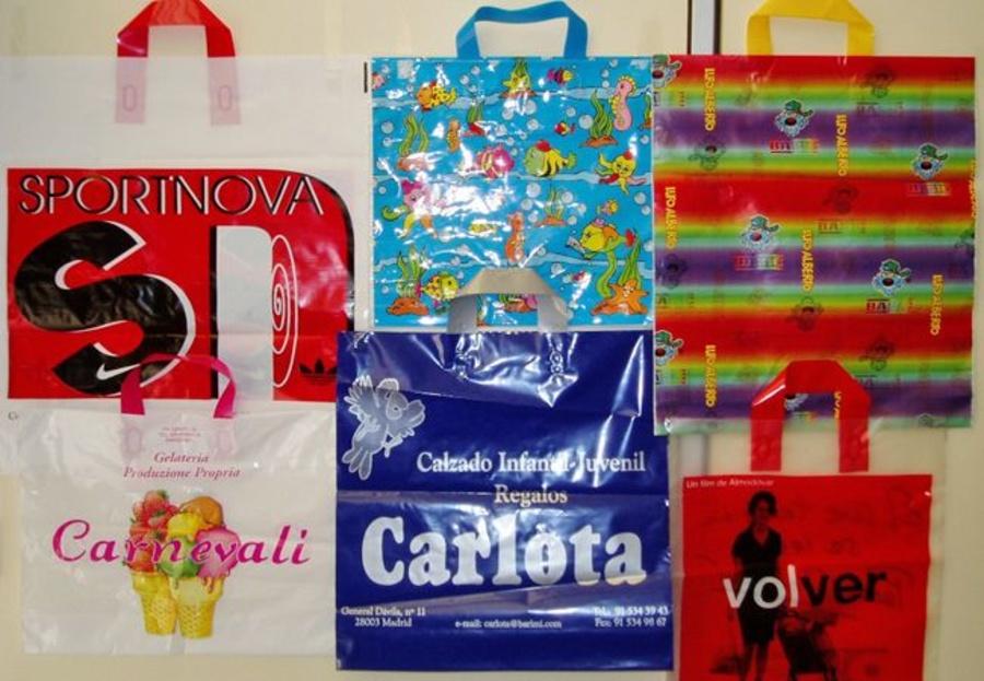El método que utilizamos para estampar las bolsas de tu comercio