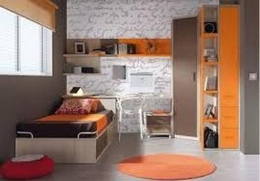 Dormitorio juvenil moderno económico