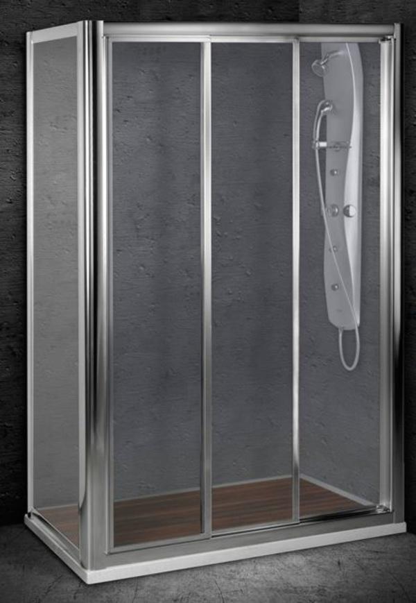 Mampara baño Premier-ducha Cartagonova II (3 hojas correderas)