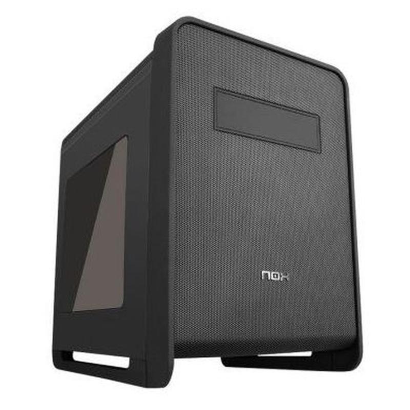 Nox Caja Micro ATX Coolbay CX Negra Rubber USB3.0 : Productos y Servicios de Stylepc