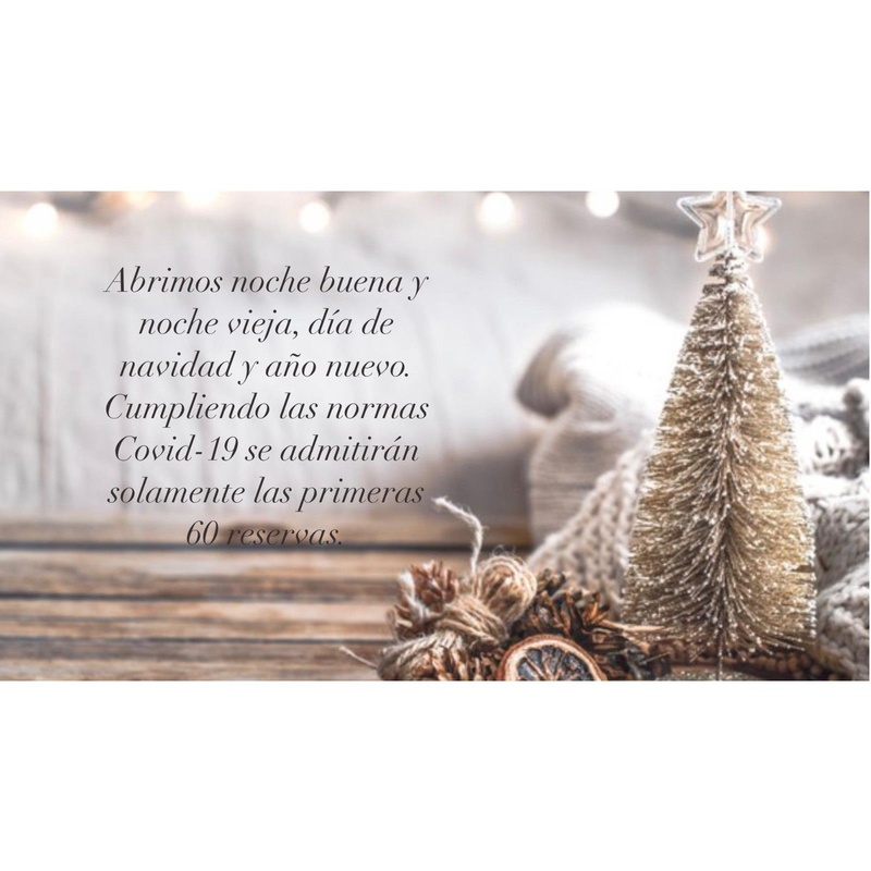 Abrimos estas Navidades: Nuestra Carta y Menús de Restaurante Mesón Del Cid