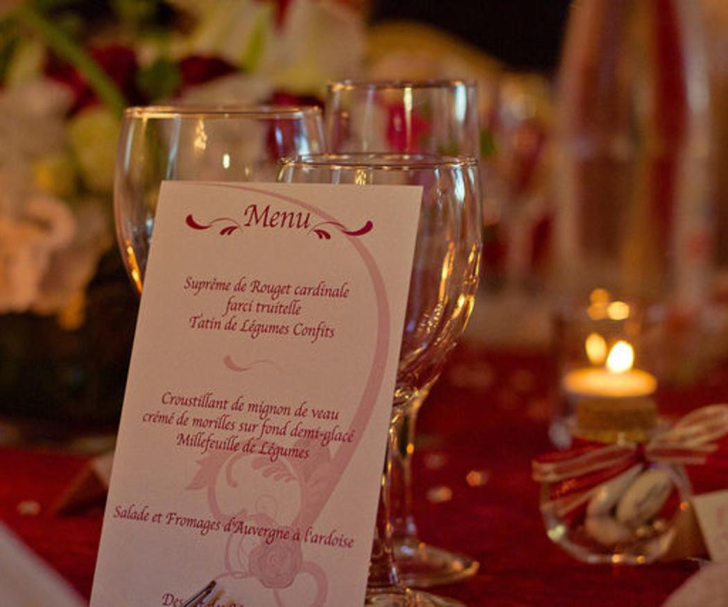 Consejos para elegir tu menú de boda