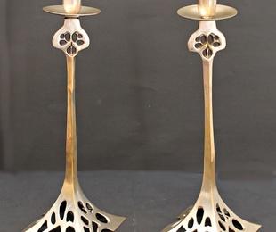 Candelabros Belgas Art Nouveau