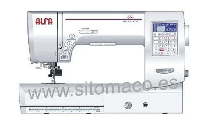 ALFA 8200 horizon: Catálogo de Sitomaco