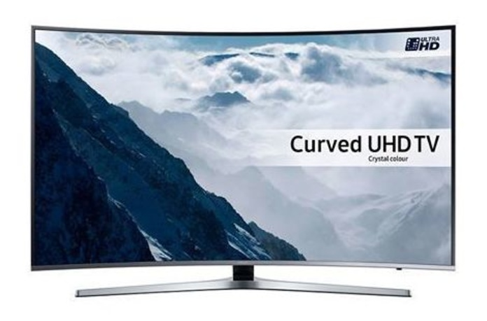 Samsung 4K Led Tv Smart Curvo HDR: Productos de Cyberworld Móviles
