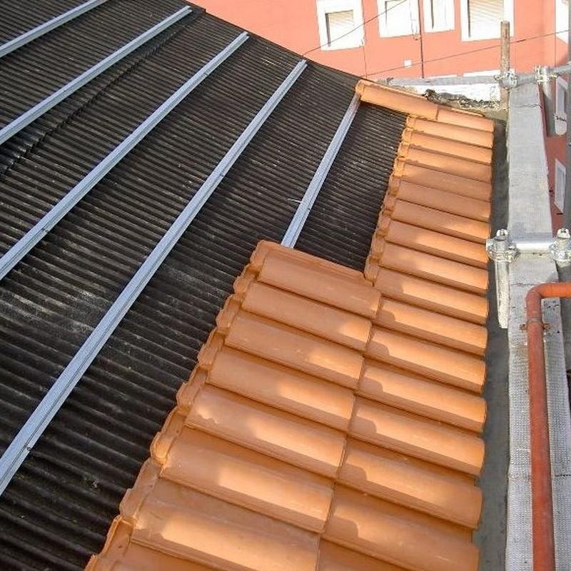 Reparación de cubiertas en Madrid