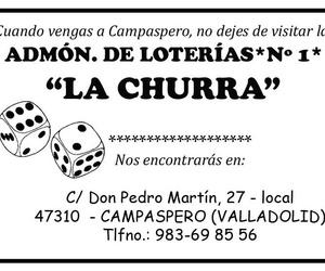 ADMON LOTERIAS Nº 1  LA CHURRA