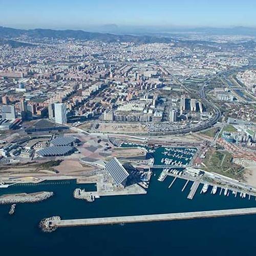 Dirección de obras públicas en Barcelona