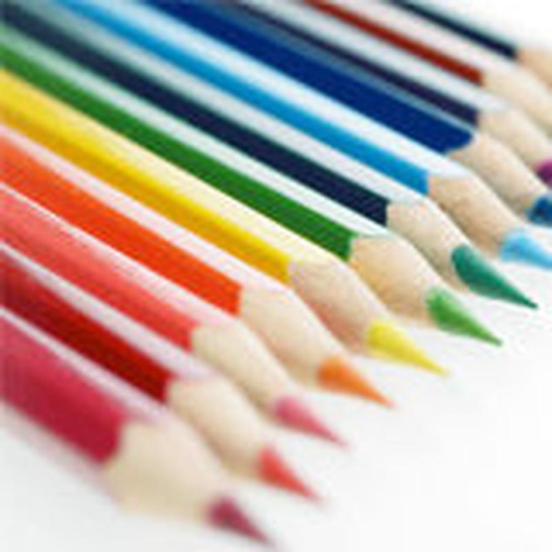 Lápices de color: Bellas Artes de La Casa del Artista P. Chicano