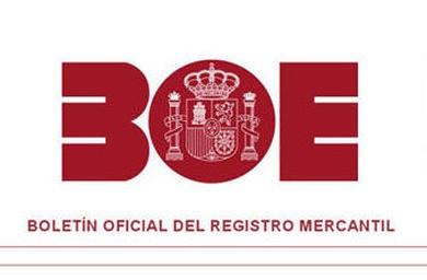 Boletín Oficial del Registro Mercantil