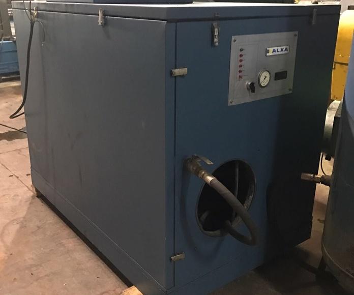 Compresor de aire Alxa : Servicios Que Prestamos de Talleres Mecánicos Lázaro Pedro,  S. L.