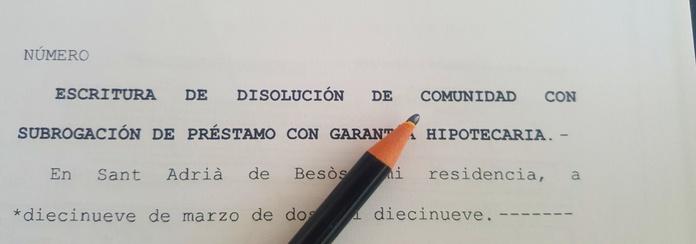 Extinción de condominio: Areas de actuación de Bufete Padilla Ramos, Abogados - Mediadores