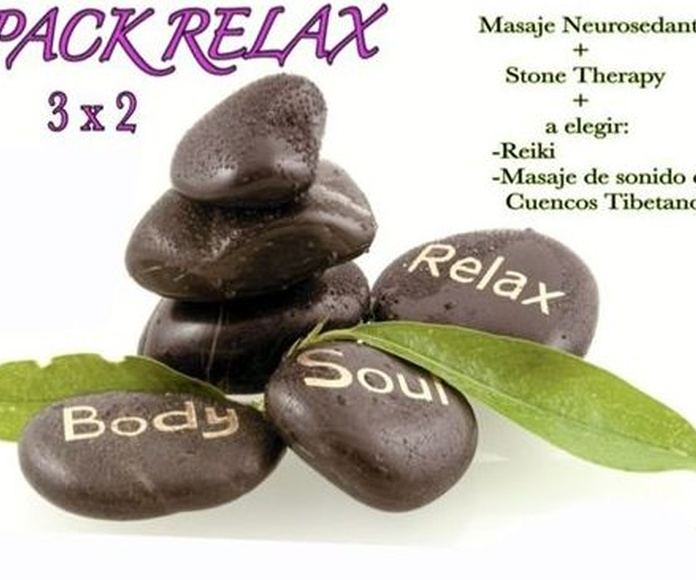 Pack Relax 3 x 2