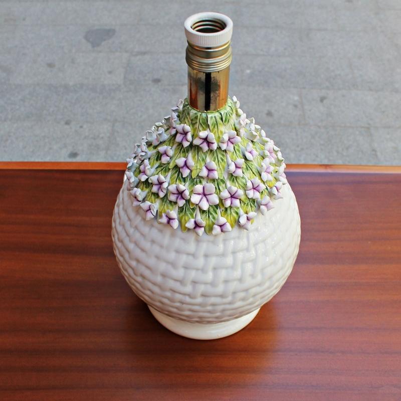 Lámpara de cerámica de Manises (España) vintage: Artículos  de Ruzafa Vintage