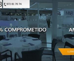 Restaurante de pescados y marisco en Playa de Aro | Restaurant & Lounge M&B