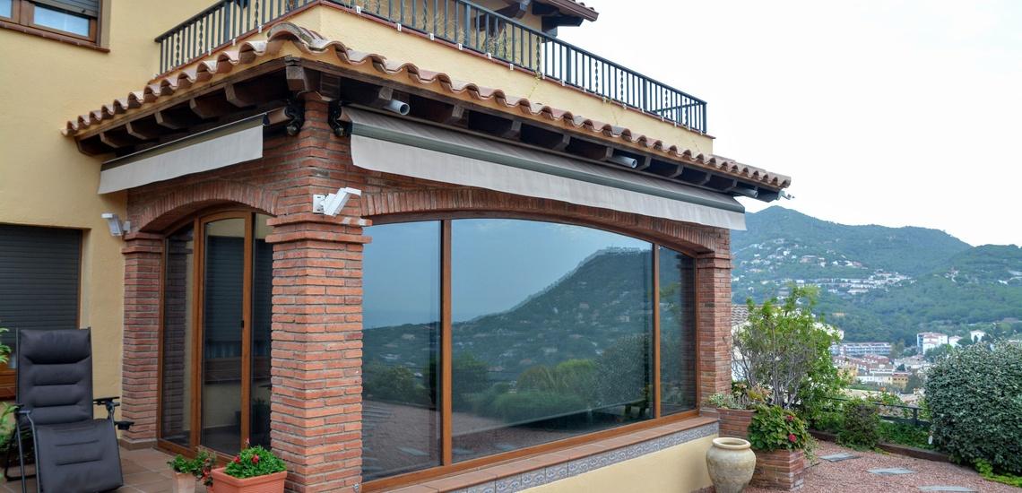 Puertas y ventanas de aluminio en Cabrera de Mar, confort en tu casa