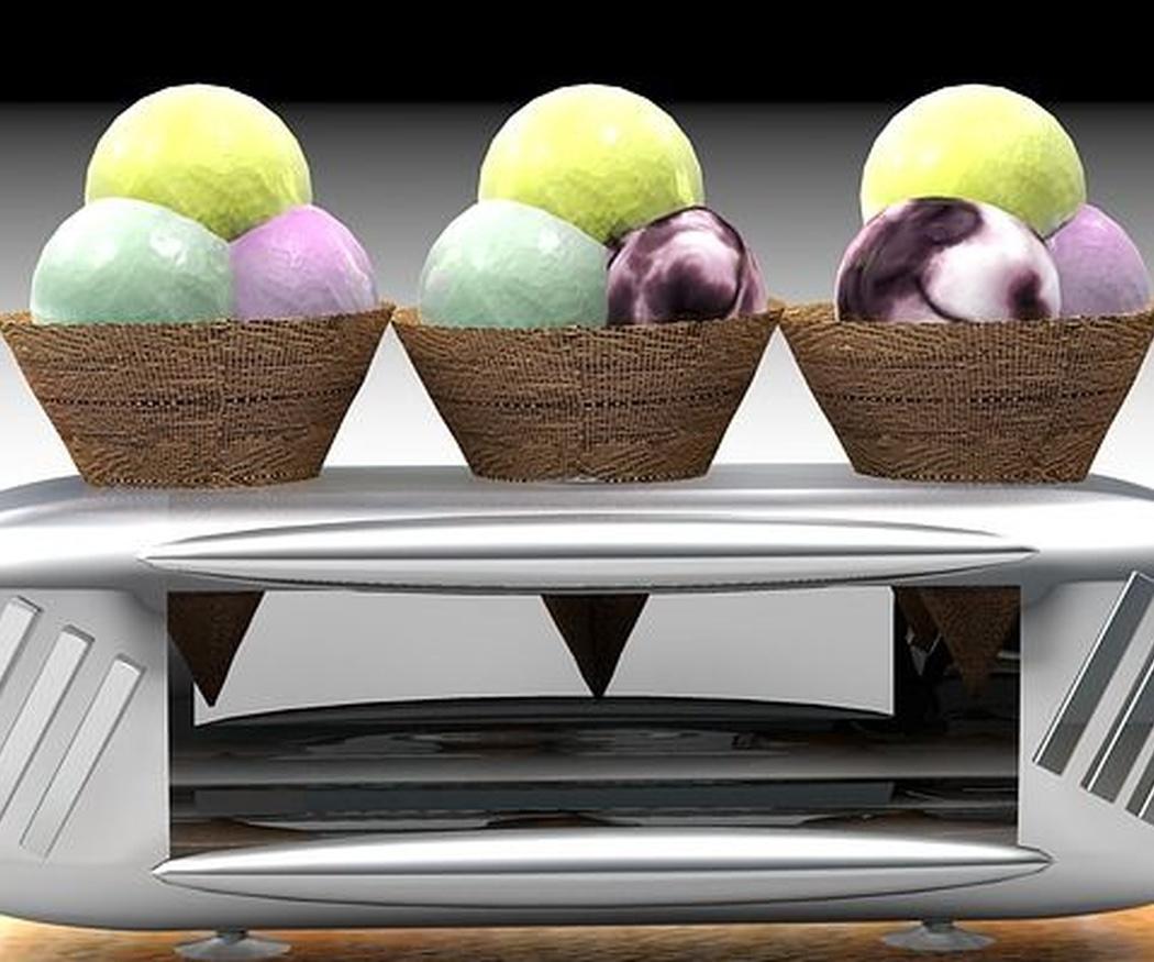 La temperatura óptima de los helados