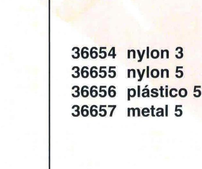 Cursor Automático Cremallera Nulon Num. 3
