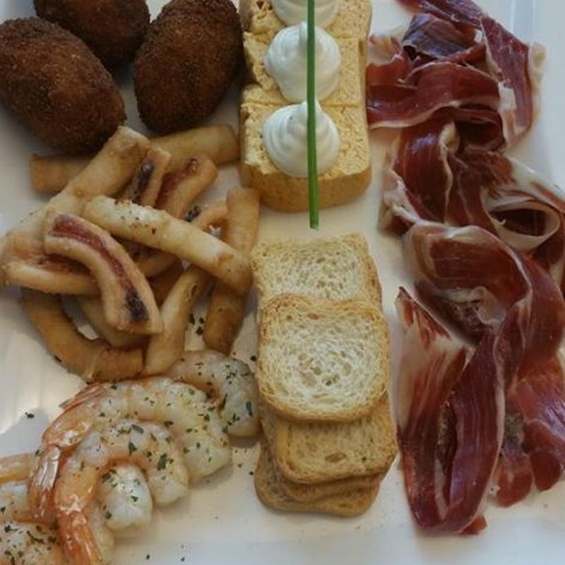 Para picar: Carta de Restaurante La Proa