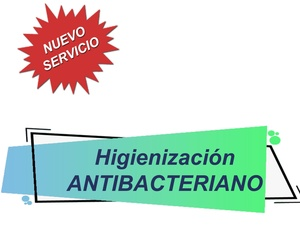 Servicio Higienización Antibacteriano