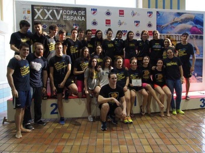 El equipo femenino, campeón de España de Primera División