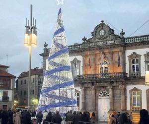 Iluminación para fiestas en A Coruña