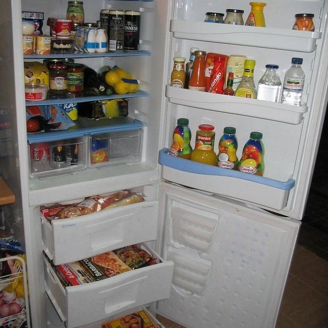 Distribución de los alimentos en el frigorífico