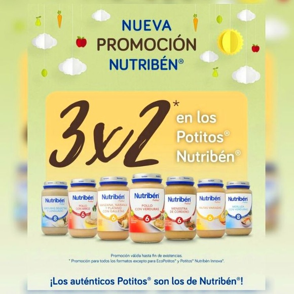 3X2 Potitos Nutriben }}