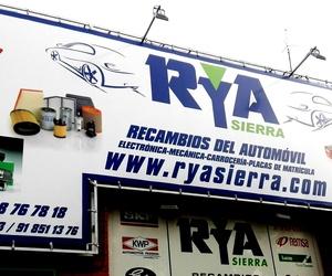 Galería de Recambios para automóviles en Collado Villalba | RyA Sierra